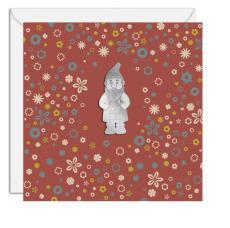 Cart'objet nain de jardin. Transmettez plus qu'un message avec ces cartes munies d'un magnet détachable. 7,50€